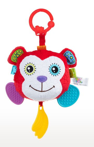 Mothercare | Bali Bazoo Monkey Head Mirror Plush Teether
