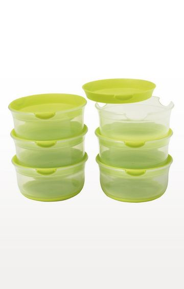 Mothercare | Green Weaning Stage 1 Small Freezer Pots - Set of 6