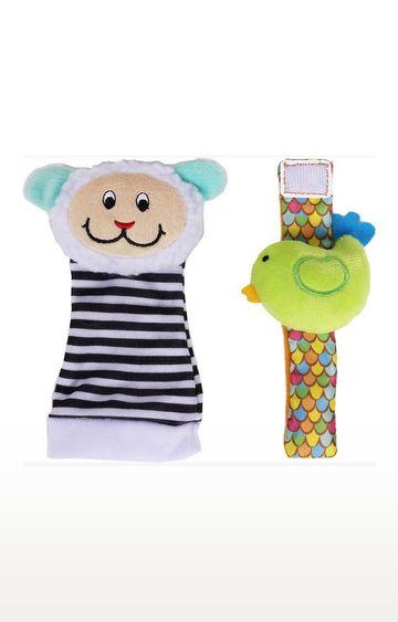 Mothercare | Biba Toys Foot Wrist Rattle - Lamb