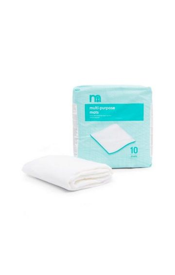 Mothercare | Maternity Bed Mats - Pack of 10