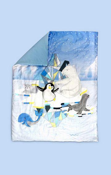 Mothercare | Fancy Fluff Organic Cot Comforter - Arctic