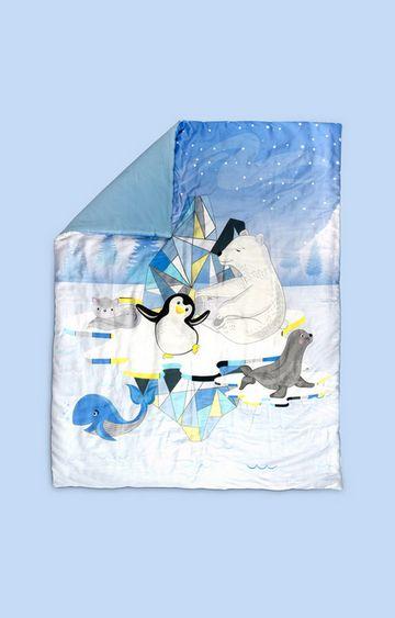 Mothercare | Fancy Fluff Organic Baby Comforter - Arctic