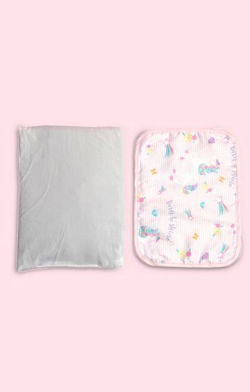 Mothercare   Fancy Fluff Organic Rai Pillow - Unicorn