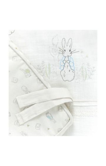 Mothercare | White Printed Bedding