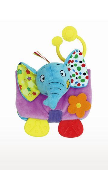 "Mothercare | Biba Toys Animals Soft BookE'Fun"""" The Elephant"