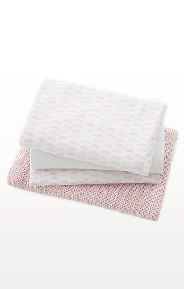 Mothercare | Cot Bed Starter Set - Pink