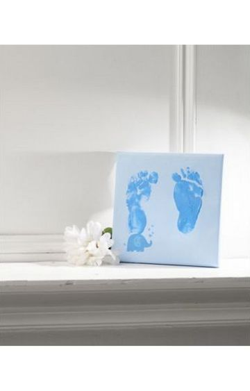 Mothercare | Blue Canvas Impression Print Kit