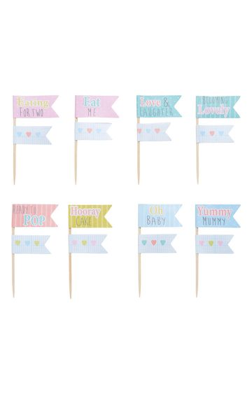 Mothercare | Baby Shower Cake Toppers