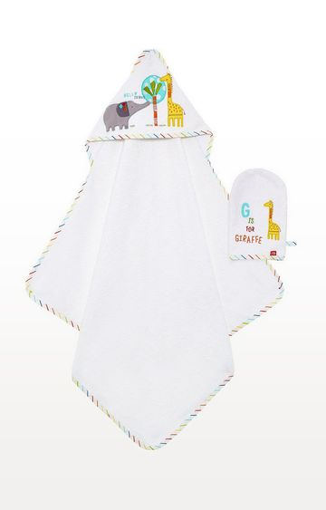 Mothercare | Hello Friend Cuddle 'N' Dry and Mitt Set