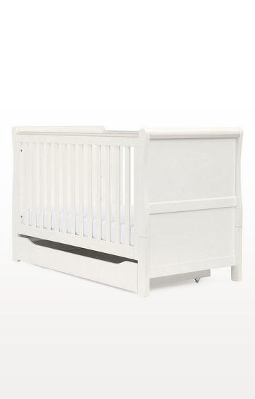 Mothercare | Sleigh Cot Bed - White