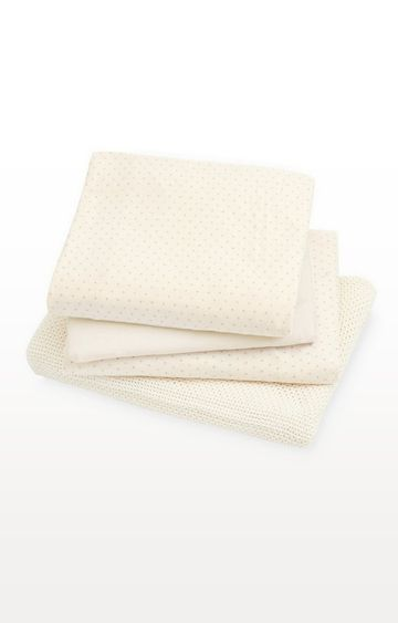 Mothercare   Cot Bed Starter Set - Cream