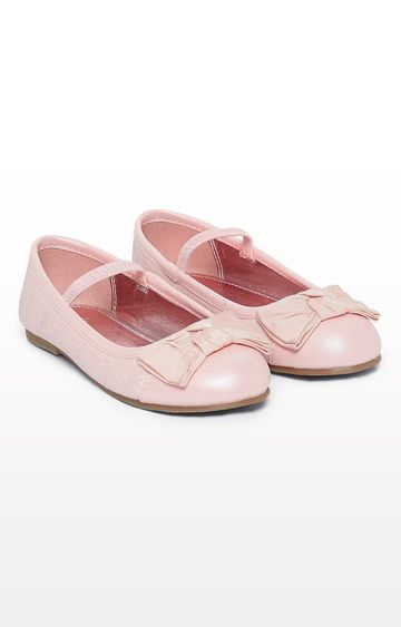 Mothercare | Pink Bow Ballerina Shoes