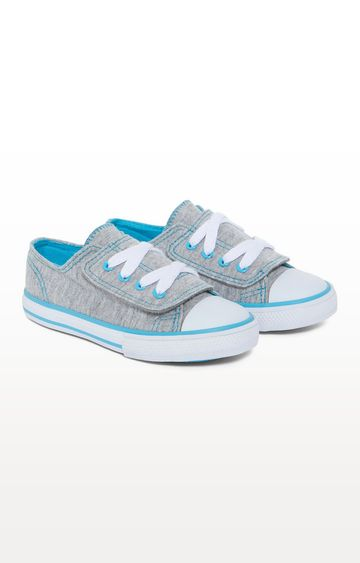 Mothercare | Mock Lace Canvas Shoes