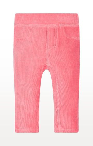 Mothercare | Pink Printed Cord Jeggings