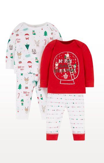 Mothercare | Christmas Pyjamas - Pack of 2