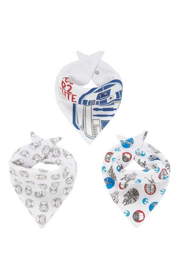 Mothercare | Star Wars Dribbler Bibs - Pack of 3
