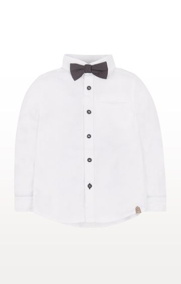 Mothercare | White Shirt and Bow Tie Set