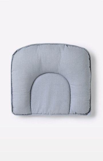 Mothercare | Mila Baby Grey Chevron Baby Pillow