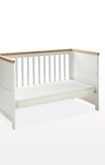 Mothercare | 70 X 140 cm Cot Bed Safeseal Foam Mattress with Spacetec and Coolmax Freshfx