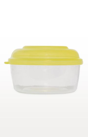 Mothercare | Yellow Tiny Dining Freezer Pots - Set of 8