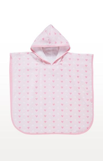Mothercare | Pink Soft Poncho