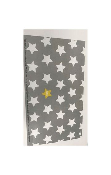 Mothercare | Grey Star Non-Slip Bath Mat
