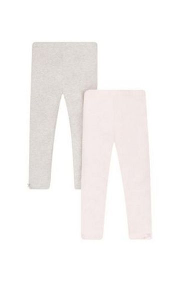 Mothercare | Pink & Grey Solid Leggings - Pack of 2