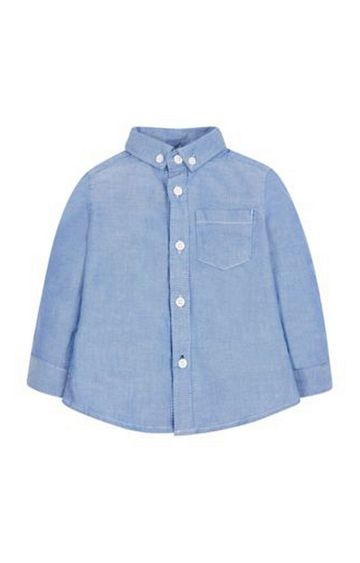 Mothercare | Blue Oxford Shirt