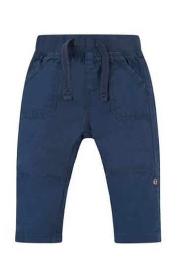 Mothercare | Navy Roll Up Trousers