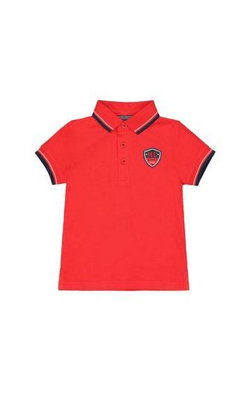Mothercare | Red Pique Polo Shirt