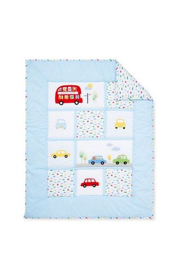 Mothercare | Blue On The Road Quilt