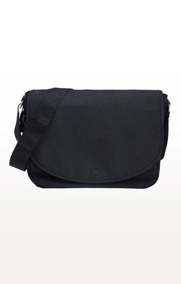 Mothercare | Black Messenger Changing Bag