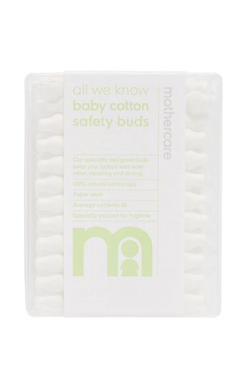 Mothercare | Safety Cotton Buds - Pack of 60