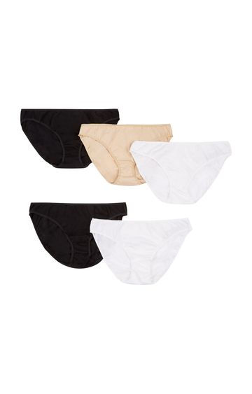 Mothercare | Multicoloured Basic Panties - Pack of 5