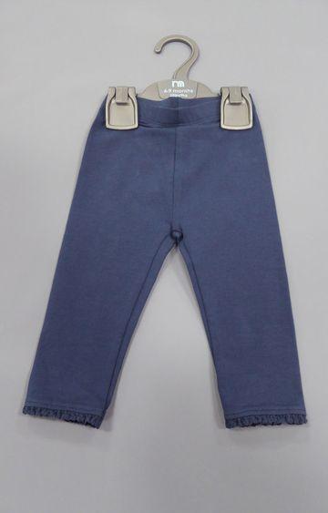 Mothercare   Blue Melange Trousers