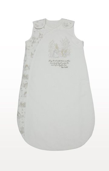 Mothercare | Cream Peter Rabbit 2.5 Tog Sleep Bag - 6-18 Months