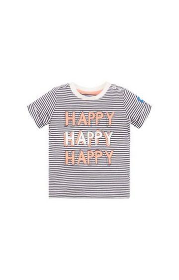 Mothercare | Stripe Happy T-Shirt