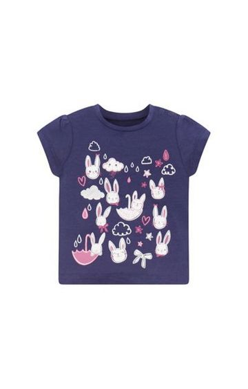 Mothercare | Navy Printed Top