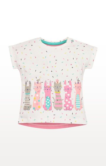 Mothercare | Confetti Cat T-Shirt