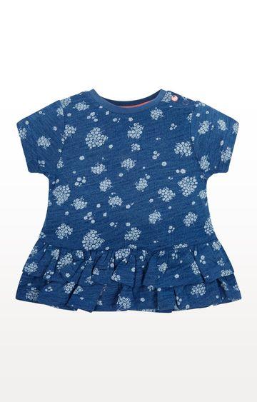 Mothercare | Indigo Floral T-Shirt