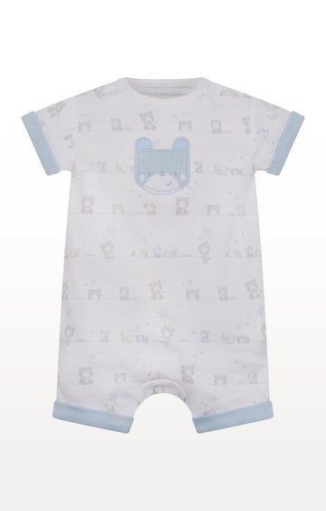 Mothercare   White Printed Romper