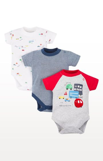 Mothercare   On An Adventure Bodysuits - Pack of 3