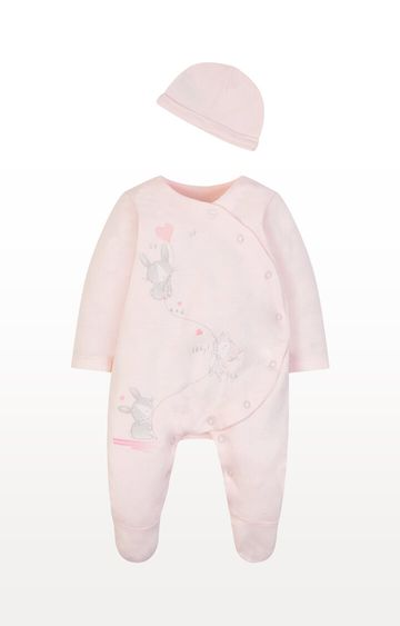 Mothercare   My First Up and Away All In One and Hat Set