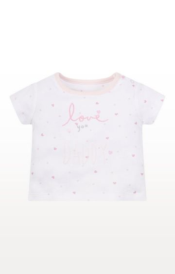 Mothercare   My First Love You Daddy T-Shirt