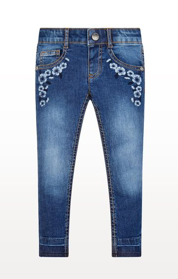 Mothercare | Floral Embroidered Jeans