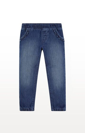 Mothercare | Ruffle Pocket Jeans