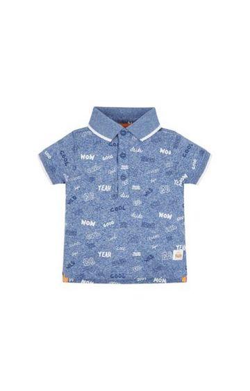 Mothercare | Cool Blue Polo Shirt