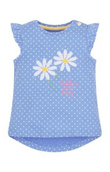 Mothercare   Blue Printed Top