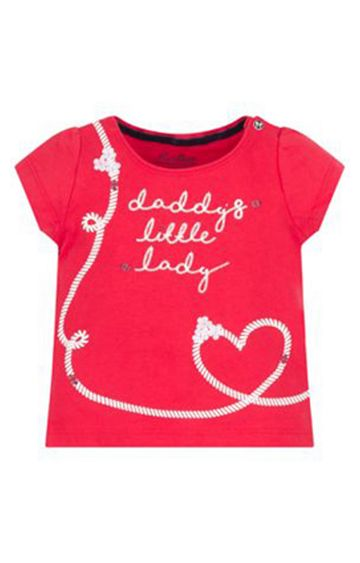 Mothercare | Red Printed Top