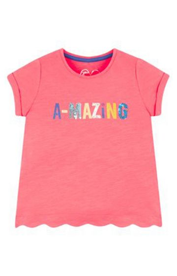 Mothercare   Coral Printed Top